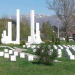 Partizansko spomen groblje na Brezi