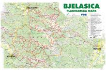 Bjelasica-planinarska mapa